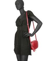 Crossbody Bag  Leather Milano Red CA160613-vue-porte