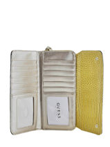 Wallet Cleo Guess Yellow cleo CG743562-vue-porte