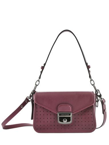 Longchamp Mademoiselle longchamp Sacs porté travers Rouge