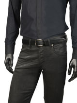 Ceinture Lacoste Noir belt RC4002-vue-porte