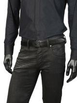 Ceinture Homme Charlie Cuir Lacoste Noir charlie RC4010-vue-porte
