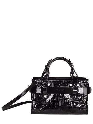 Longchamp La voyageuse lgp verni Handbag Black