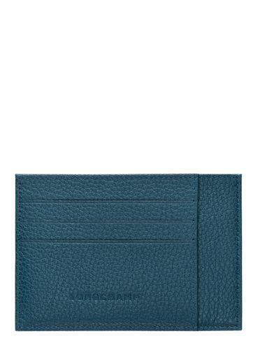 Longchamp Le foulonné Bill case / card case Black