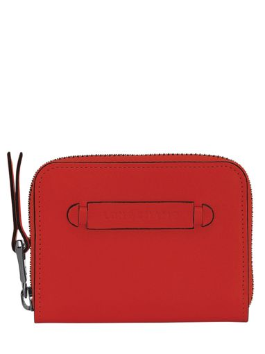 Longchamp Longchamp 3d Porte billets/cartes Rouge