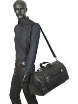 Cabin Duffle Downtown Tommy hilfiger Black downtown AM05240-vue-porte