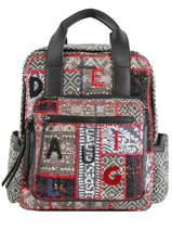 Backpack Patch 1968 Desigual Black patch 1968 19WAKA35