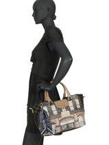 Sac Trapèze Couture Anekke Noir couture 29881-52-vue-porte