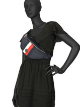 Small Belt Bag Poppy Tommy hilfiger Blue poppy AW07604-vue-porte