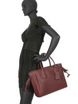 Longchamp Pénélope Handbag Red-vue-porte