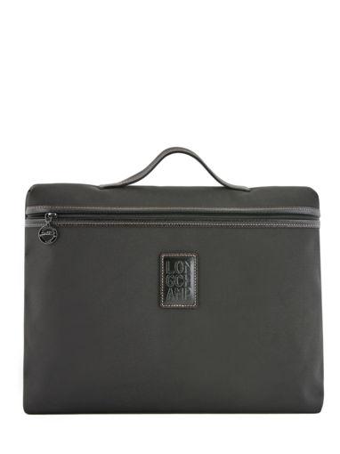 Longchamp Boxford Briefcase Blue