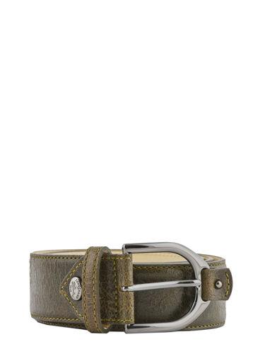 Longchamp Amazone matelassÉ craquelÉ Belts Green