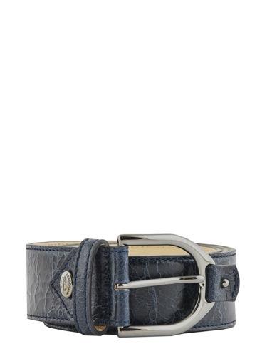 Longchamp Amazone matelassÉ craquelÉ Belts Blue