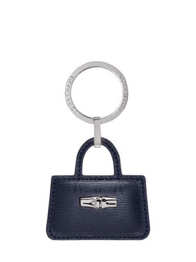 Longchamp Roseau Key rings Blue