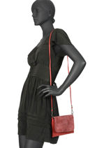 Crossbody Bag Brown Miniprix Pink brown H6736-vue-porte