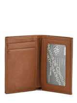Leather Card Holder Bart Arthur et aston Brown bart 1978-100-vue-porte