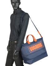 Longchamp Cocagne Travel bag Blue-vue-porte