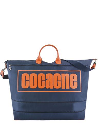 Longchamp Cocagne Travel bag Blue