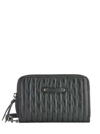 Longchamp Amazone matelassÉ Wallet Black