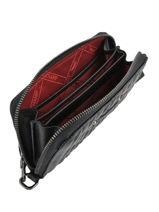 Longchamp Amazone matelassÉ Portefeuilles Noir-vue-porte
