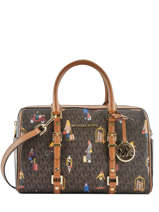 Satchel Jet Set Girls Michael kors Brown bedford travel H9G07S6O