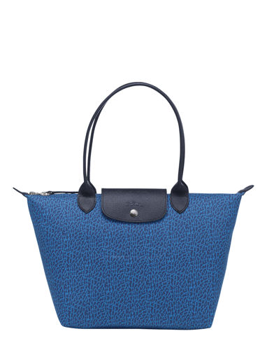Longchamp Le pliage panthÈre Hobo bag Blue