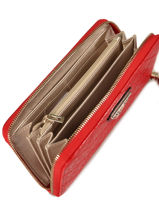 Zip Wallet Astrid Guess Red astrid SG747946-vue-porte