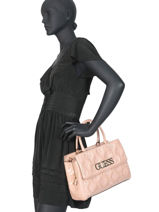 Patent Top Handle Bag Guess Chic Guess Pink guess chic PG758906-vue-porte