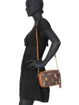 Sac Bandoulière Jet Set Girls Michael kors Marron crossbodies H9GJ6M2O-vue-porte