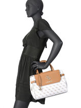 Top-handle Bag Esmé Guess White esme EG758206-vue-porte