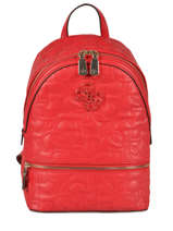 Sac à Dos New Wave Guess Rouge new wave VG747532