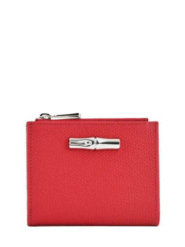 Longchamp Roseau Wallet Beige