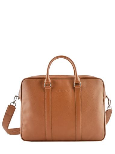 Longchamp Le foulonné Briefcase Red