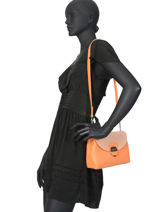 Crossbody Bag Foulonné Pia Lancaster Orange foulonne pia 547-39-vue-porte