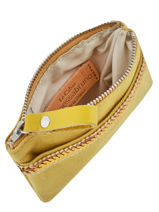 Le Cabas Purse Sequins Vanessa bruno Yellow cabas 1V42035-vue-porte