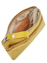 Porte-monnaie Le Cabas Paillettes Vanessa bruno Jaune cabas 1V42035-vue-porte