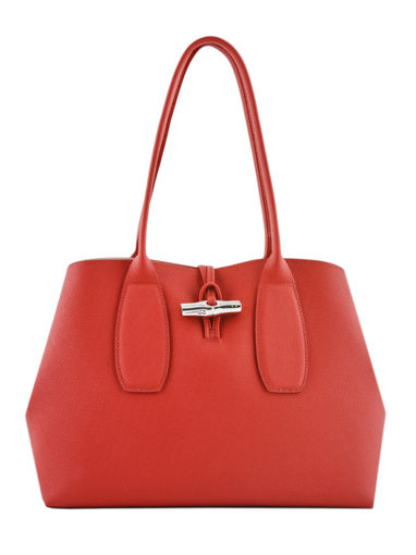 Longchamp Roseau Hobo bag Red