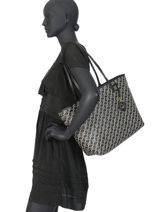 Large Tote Bag Merrimack Lauren ralph lauren Black merrimack 31783320-vue-porte