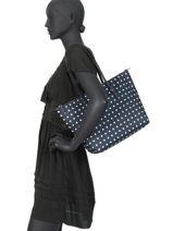 Medium Tote Bag Chadwick Lauren ralph lauren Blue chadwick 31758179-vue-porte