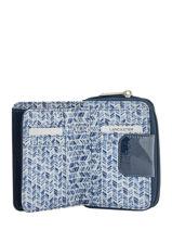 Wallet Lancaster Blue basic vernis 104-14-vue-porte