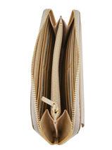Wallet Leather Lancaster Gold signature 127-04-vue-porte