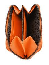 Longchamp Le pliage cuir Porte-monnaie Noir-vue-porte