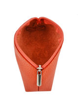 Purse Leather Milano Orange G008-vue-porte