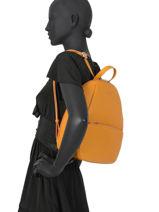 Backpack Confort Hexagona Orange madrid 536749-vue-porte