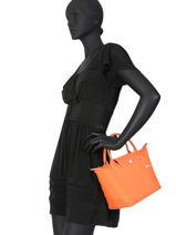 Longchamp Le pliage club Sacs porté main Noir-vue-porte