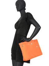 Longchamp Le pliage club Serviette Noir-vue-porte