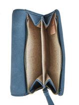 Porte-monnaie Coquelicot Woomen Bleu coquelicot WCOQ91-vue-porte