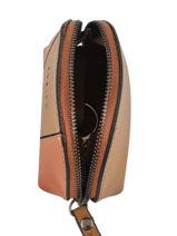 Leather Escarpe Purse Etrier Brown escarpe EESC92-vue-porte