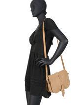 Crossbody Bag Tornade Leather Etrier Brown tornade ETOR01-vue-porte