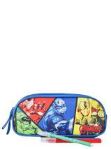 Kit 2 Compartments Avengers Multicolor quadri AVNI00-vue-porte
