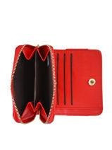 Porte-monnaie Grained Miniprix Rouge grained 78BH113-vue-porte